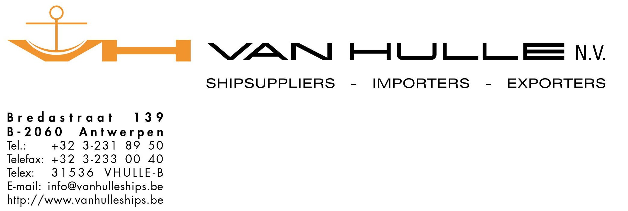 Van Hulle Shipsuppliers nv